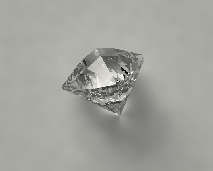 trillion diamonds jewelry jewel gem 3d Model