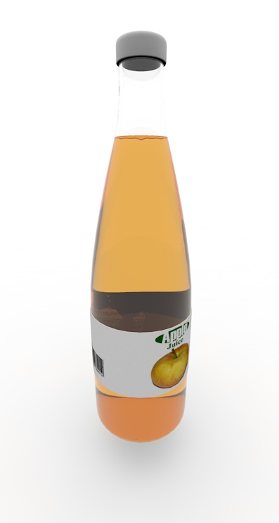 drink bottle 3d model material