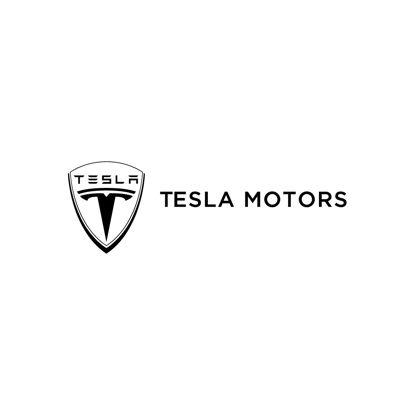 Tesla Logo AI Vektör