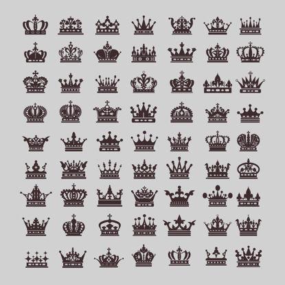 Изображение Роскошные короны AI Vector