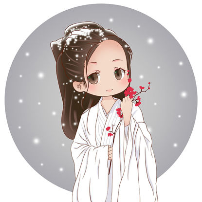 Immagine di Costume Beauty - Hanfu Beauty - Personaggi in costume - Elementi cinesi