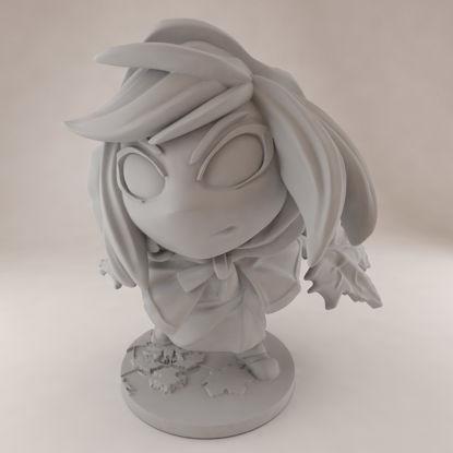 Momodora Leaf Priestess Kaho Figure 3D打印模型