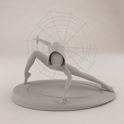 Modèle d'impression 3D Spider Woman Gwen Stacy