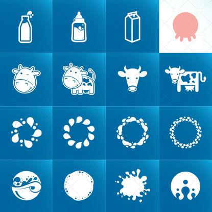 图片 牛奶图标eps矢量图