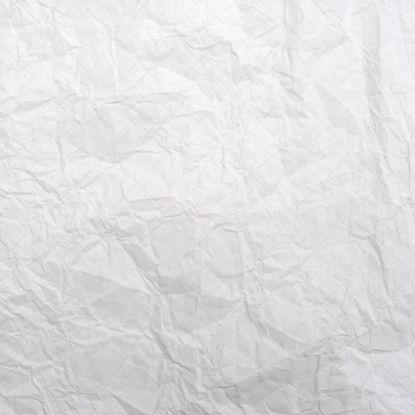 弄皱的白皮书纹理照片