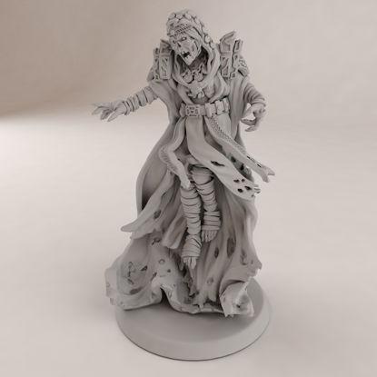 亡灵女巫3D打印模型