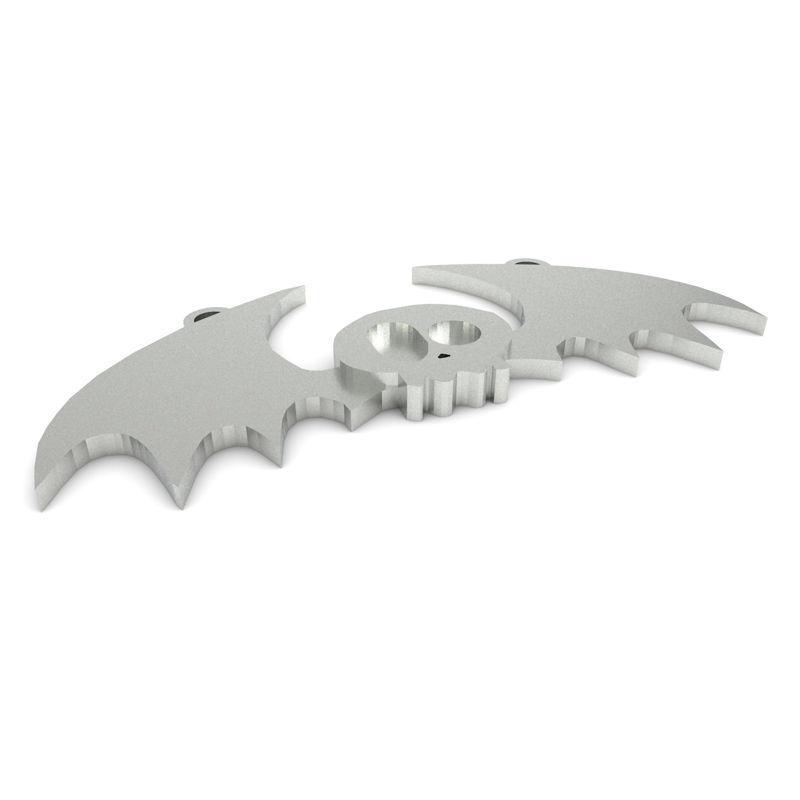 Colgante de calavera de murciélago modelo de impresión 3d