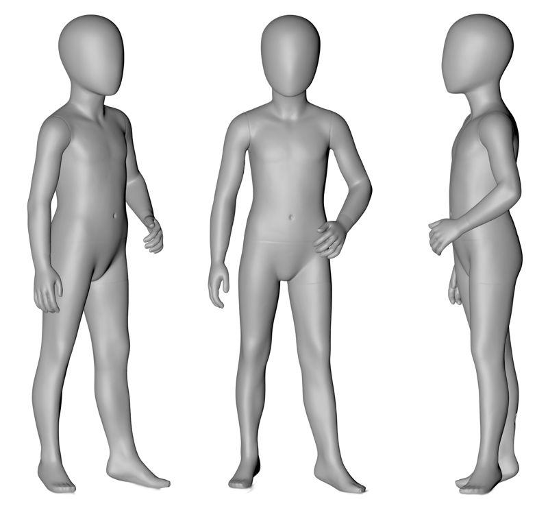 6 yaşındaki Çocuk Manken 3d baskı modeli resmi