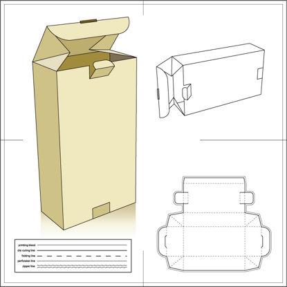 纸包装纸盒6 AI矢量