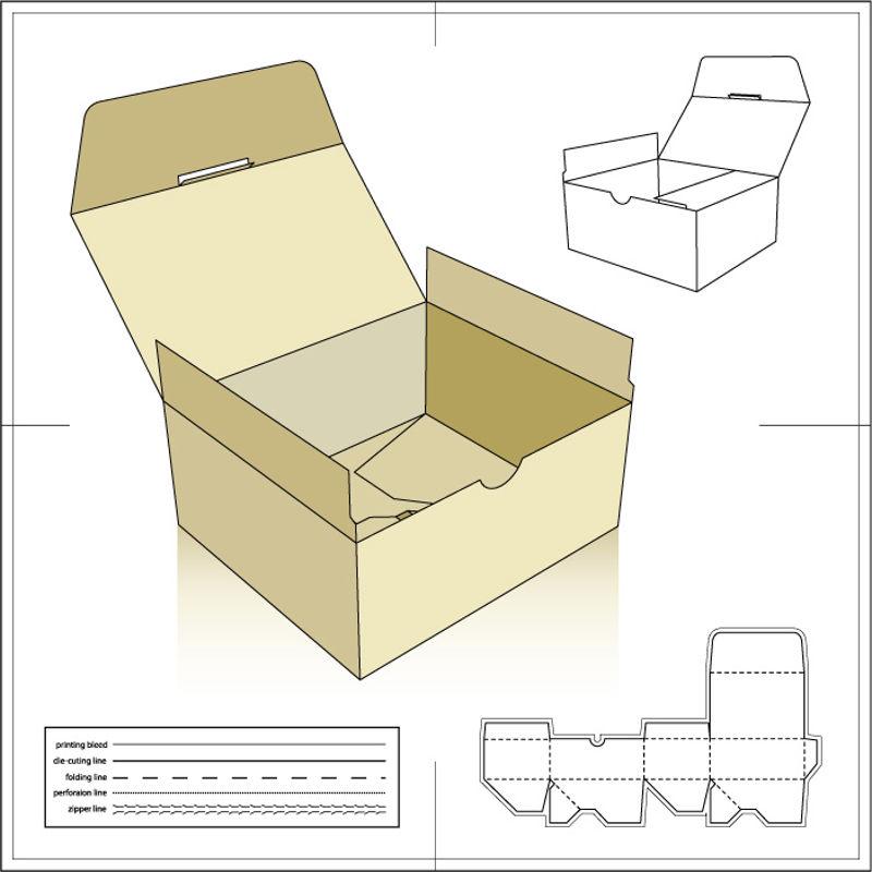 Изображение Бумажный пакет 5 AI Vector