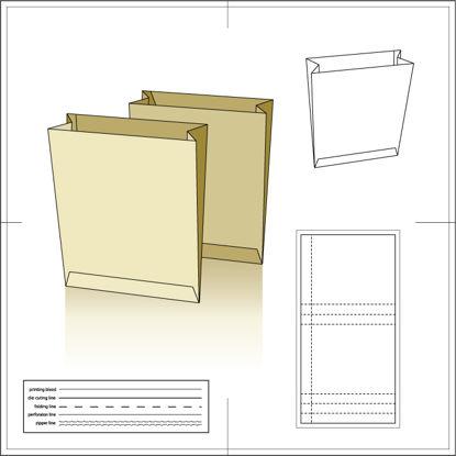 纸包装纸袋31 AI矢量