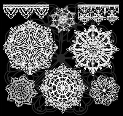 花边图形图形AI矢量