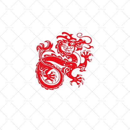 Image de Dragon traditionnel de Chine