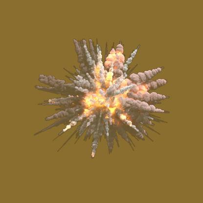Havada Patlama PNG resmi
