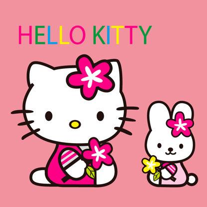 Изображение Мультфильм Hello Kitty Персонаж AI Вектор