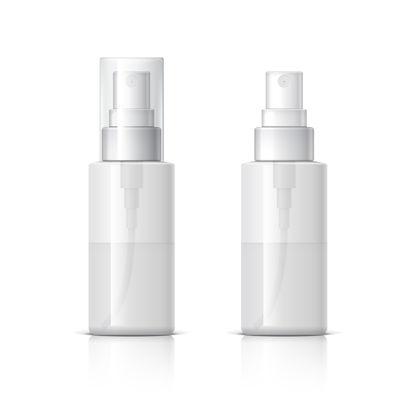 Бутылки Косметики Шампунь и Макет для мытья тела