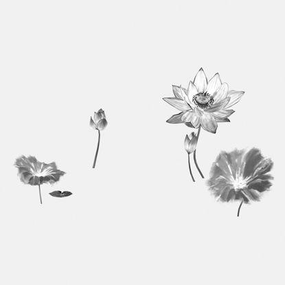 Ink material lotus 3d model total