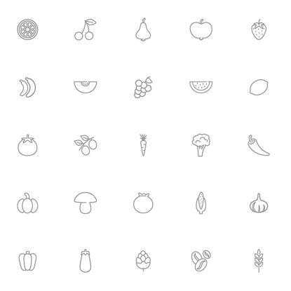 Icono de vector de alimentos finos color claro diseño sentido de la luz