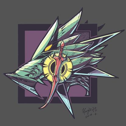 Волк значок логотип тотем Концепция дизайна