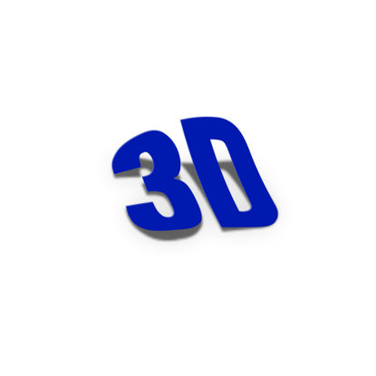 Picture of 3D Font PS Action