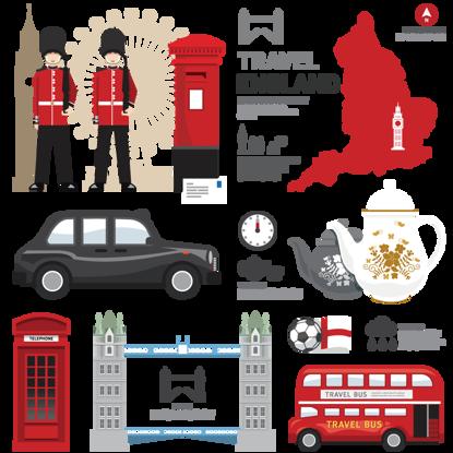İngiltere İngiltere İngiliz turistik karakteristik özellik unsurları resmi