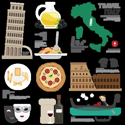 تصویر ایتالیا ویژگی های ویژگی های ویژگی های توریستی