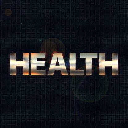 Immagine di Metallo screpolato con stile Halo PS