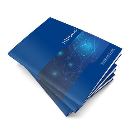 Immagine di Modello Brochure Blu
