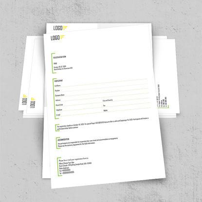 注册报名表单表格设计