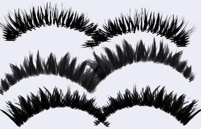 55 Eyelash PS Brushes