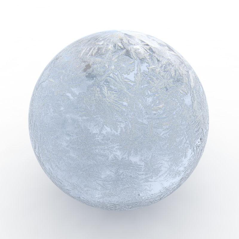 Imagen de Material de hielo azul claro y blanco para Cinema 4D R17
