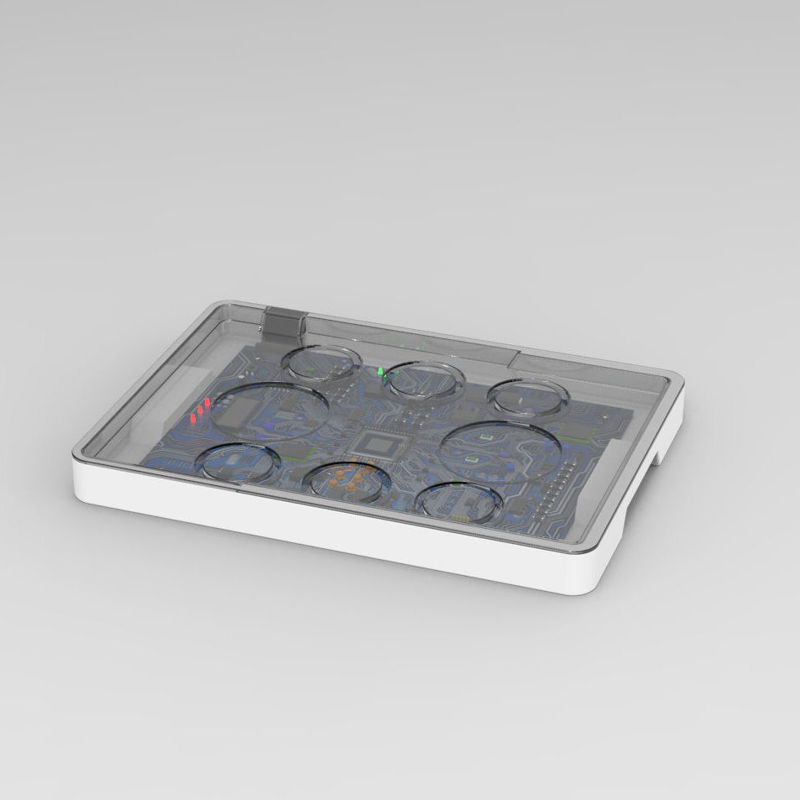 Intelligent catering tray