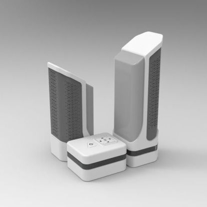 Speaker industrial design 3d model