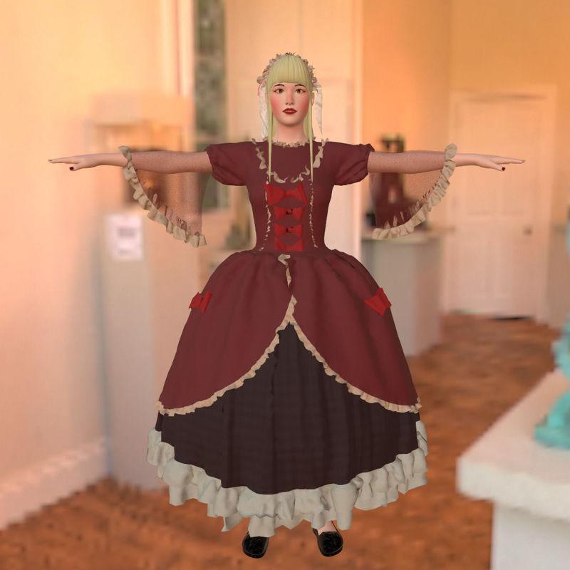 Lolita 3D model