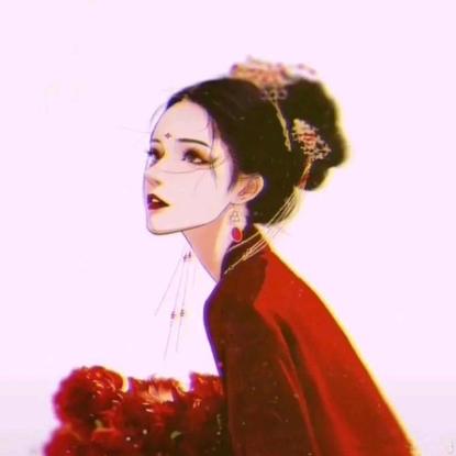 Beautiful Hand painting fairy avatar