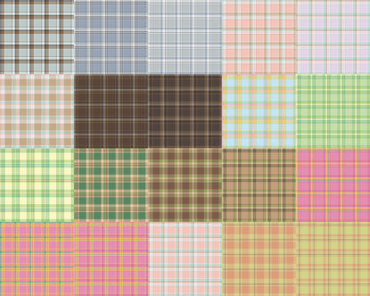 Снимка на 20 Seamless Pastel Check Patterns