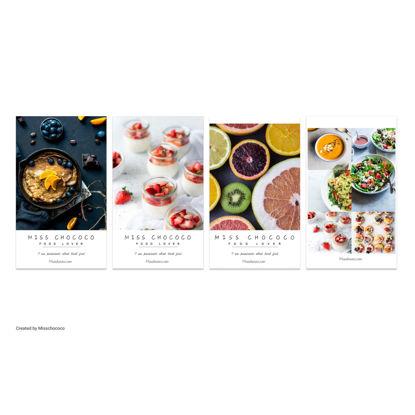 Foodie  postcard Flyer