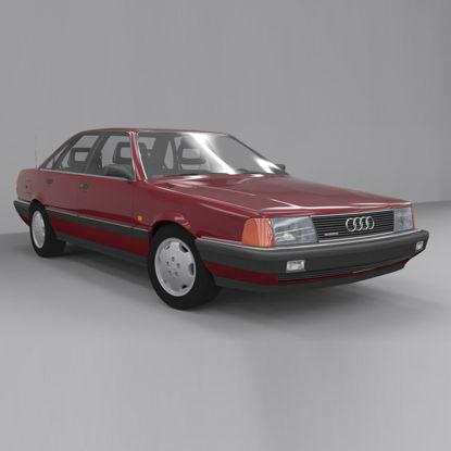 Audi 100 C3 Sport Quattro 3d model