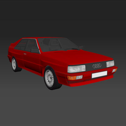 Audi B2 urQuattro 3d model