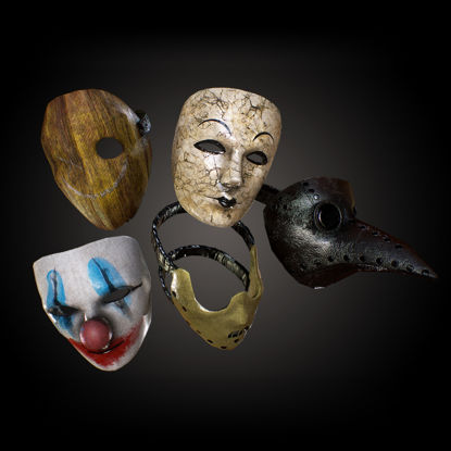 PBR Horror Mask Pack 3d model
