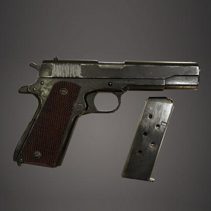PBR Colt M1911a 3d model