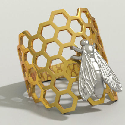 Ring Bee 3d printing model