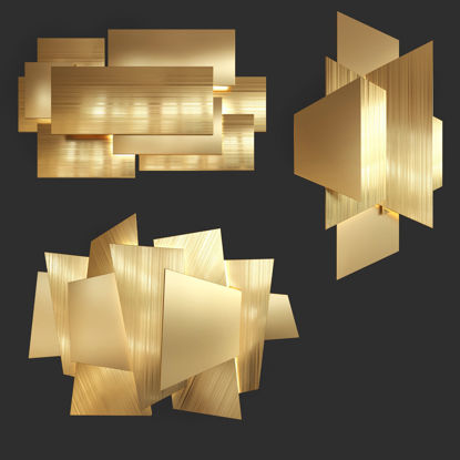 wall decor 3d model 04