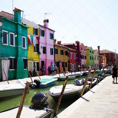 Burano - Venice (Italy) - Coloured houses