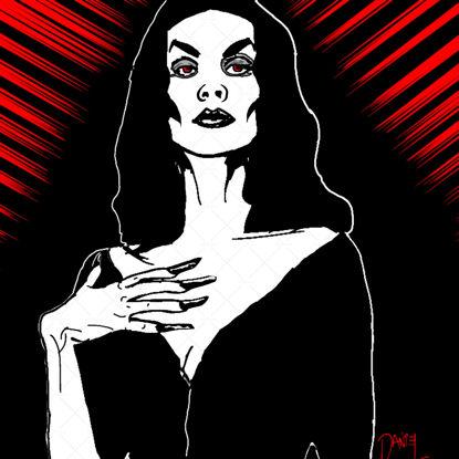 Vampira illustration