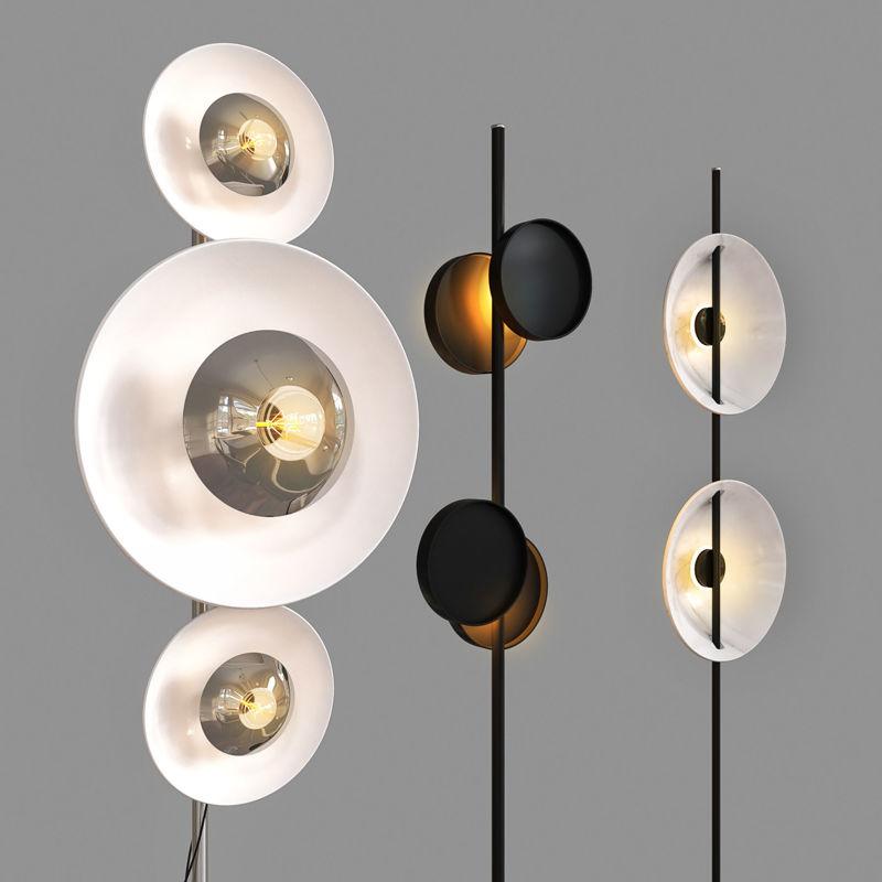 floorlampset 01 3d model