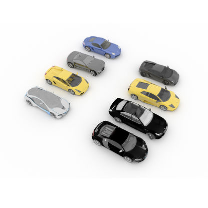 Eight sports car 3d models