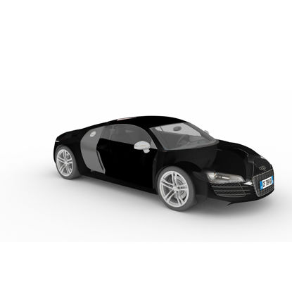 Audi sports car 3d model