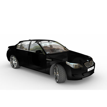 BMW sports car 3D model