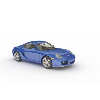 Porsche sports car 3D model